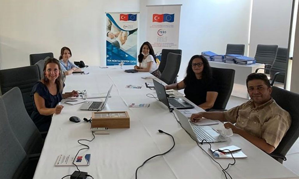 Monitoring Visit Uşak Chamber of Commerce and Industry (17 August 2020)