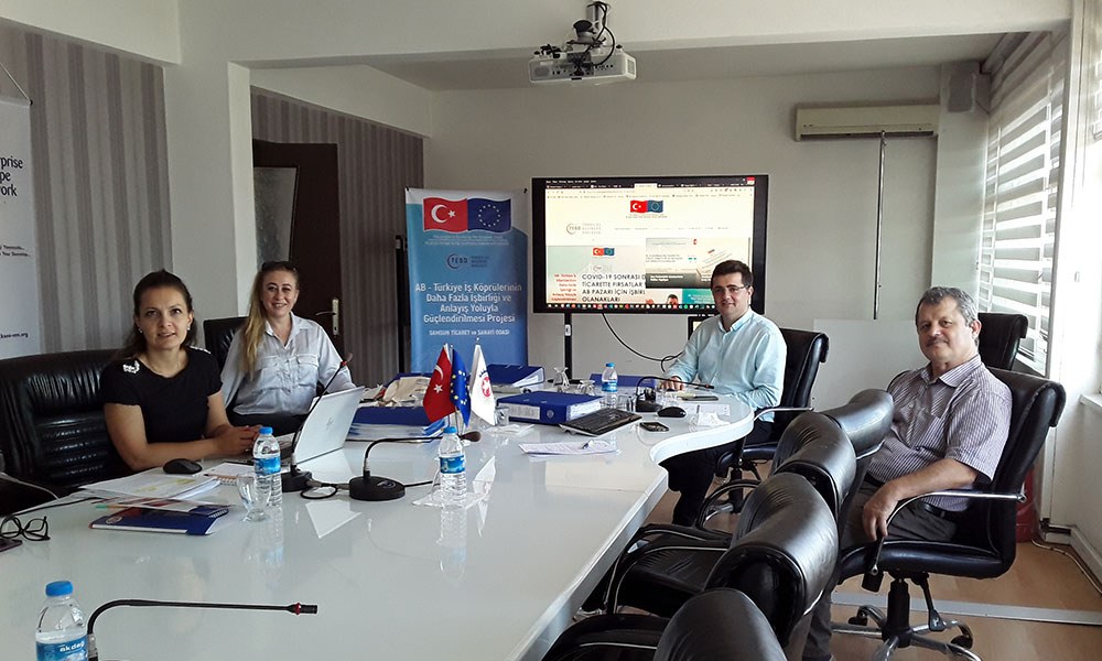 Samsun Chamber of Commerce and Industry Monitoring Visit (24 August 2020)