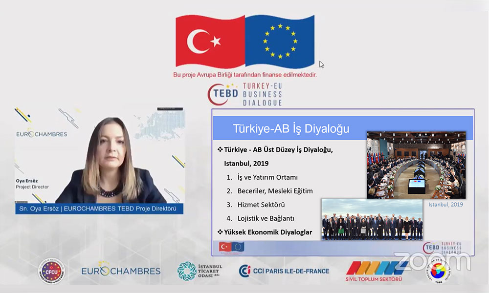 "T4D Chamber Partnership Project: Closing Conference & Digital ""KOBİM"" Platform Introduction"