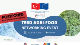 TEBD Agri-Food Networking Event - Postponement
