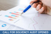 Call for Solvency Audit Opened